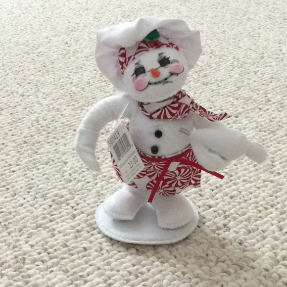 Annalee Peppermint Chef Snowman